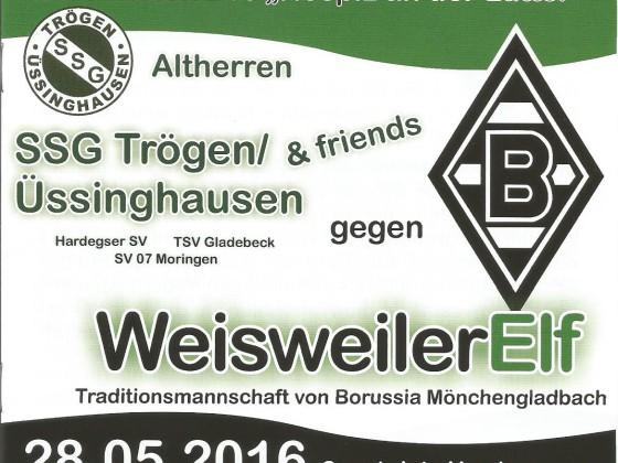 Benefiz-Fussballspiel SSG Trögen/Üssinghausen gegen Weisweiler Elf